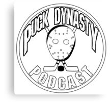 Puck Dynasty Podcast - Logo 2015 Canvas Print