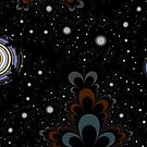 Friday Fractal III - Midnight by Hugh Fathers