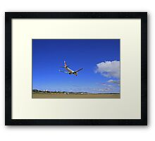 Virgin Landing Framed Print