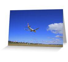 Virgin Landing Greeting Card