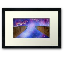 """""""touch the Universe""""... Champalimaud Centre for the Unknown Framed Print"""