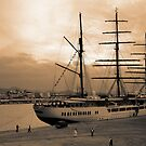 Sea Cloud II by Gaspar Avila
