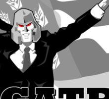 Vote Megatron Sticker
