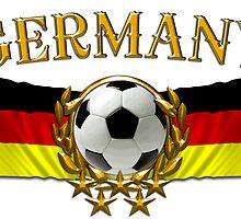 Soccer Flags Germany Sticker by ukedward