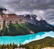 Peyto Lake by Karl Lindsay