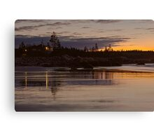 White Point Morning (HDR) Canvas Print