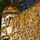 The Wall - Paseo del Morro - Old San Juan by © Hany G. Jadaa © Prince John Photography