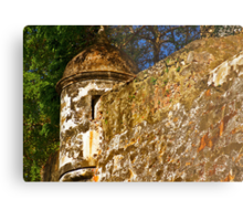 The Wall - Paseo del Morro - Old San Juan Metal Print