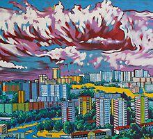 Karlova Ves, Bratislava - Tower City by Gary McNulty