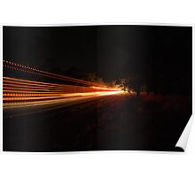 Streaks in the night Poster