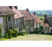 Shaftesbury Gold Hill Photographic Print