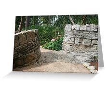 Nature Walk Trails Greeting Card