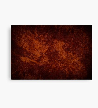 Vintage stained cloth sheet texture  Canvas Print