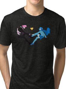 Lewis and Vivi Tri-blend T-Shirt