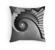 Into the hole Throw Pillow
