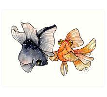 Goldfishes Art Print