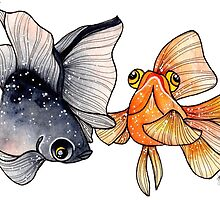 Goldfishes by jessthechen