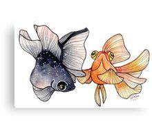 Goldfishes Metal Print