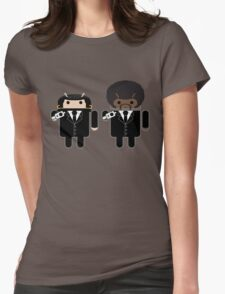 "Say ""Droid"" one more time... Womens Fitted T-Shirt"