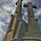 Hill of three crosses by Robin Petersen