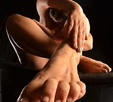 Nude with Foot and Toes 1701-SKG by Chris Maher