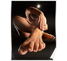 Nude with Foot and Toes 1701-SKG Poster