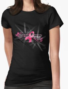 Breast Cancer Awareness Nietzsche Quote T-Shirt