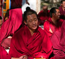 Monks, Sera Monastery, Tibet. by bulljup