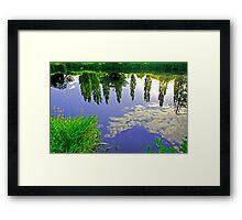The River Trent Reveals Framed Print