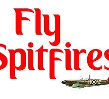 Fly Spitfires Soccer Sticker by ukedward