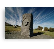 Key Hole Sculpture @ Sculpture Park, Barossa Valley Canvas Print