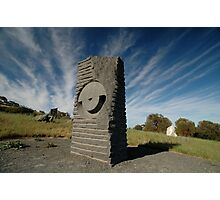 Key Hole Sculpture @ Sculpture Park, Barossa Valley Photographic Print