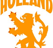 Holland Orange Lion Soccer Sticker by ukedward