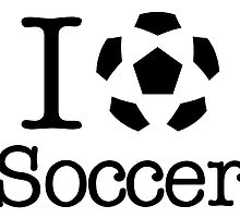 I Love Heart Soccer Football Sticker by ukedward