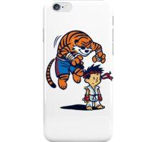 Street Fighter Calvin & Hobbes iPhone Case/Skin