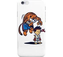 Street Fighter Calvin & Hobbes iPhone Case/Skin
