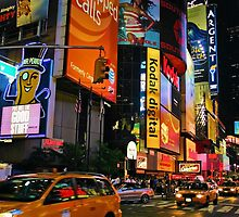 Times Square by Garry Copeland