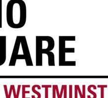 Soho Square London Road Sign Sticker