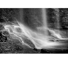 Obsidian Streams Photographic Print
