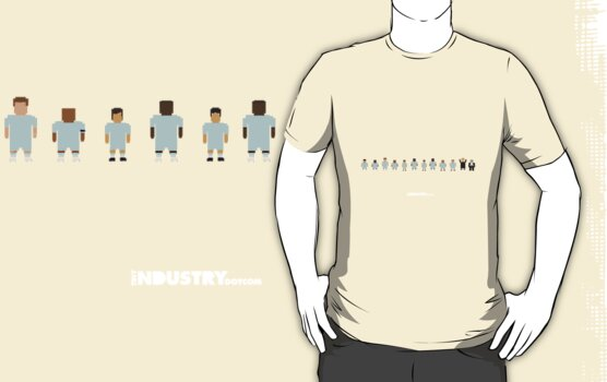 Man City team line by tinyindustry