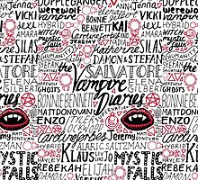 THE VAMPIRE DIARIES by -hxrtsy