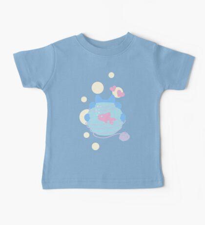 Pastel Wool Web  Baby Tee
