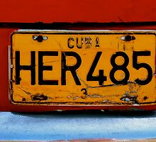 Havana Car Registration  by Danielle Chappell-Hall