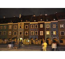 Colours Of Poznan Photographic Print