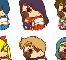 Pretty Soldier Sailor Puglie Sticker