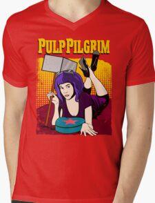 Pulp Pilgrim Mens V-Neck T-Shirt
