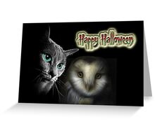 The Owl and the Pussy Cat Greeting Card