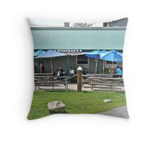 Clam Shack - Monahan's - Narragansett, RI Throw Pillow