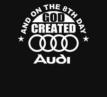And On The 8th Day God Created Audi Fan Funny Joke Hoodie