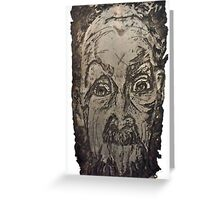 """Charlie"" Etching Plate Greeting Card"